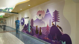 Hall at Seattle Children's